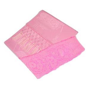 七五三 女の子 正絹絞り 帯揚げ&志古貴 しごき 2点セット ピンク 日本製 SSO-2 ran