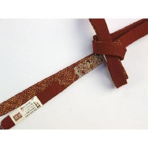 極細 三分金銀糸使用 高麗手組み 正絹帯締め GS2|ran