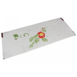 着物用文庫 高級たとう紙 雲竜 椿 KBT-2-5(5枚セット) 薄紙なし|ran