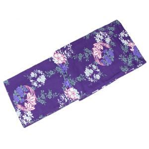 浴衣 ゆかた JSS-58 お仕立て上り浴衣 Mサイズ 紫 Japanese Summer Style|ran