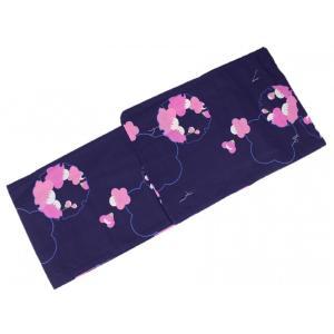浴衣 ゆかた JSS-71 お仕立て上り浴衣 Mサイズ 紫 Japanese Summer Style|ran