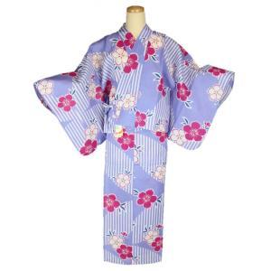 二部式セパレート浴衣です。   ■サイズ ・適応身長 156〜168cm ・上着着丈:約57cm  ...