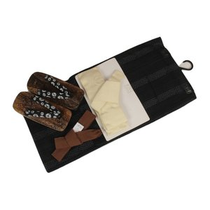メンズ浴衣4点セット 浴衣Lサイズ・作り帯・下駄26.0cm・腰紐 OHU-18|ran