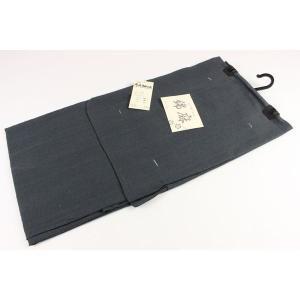 メンズ 高級 綿麻変り織り 仕立て上がり浴衣 KMa-1 M/L/LL グレー|ran