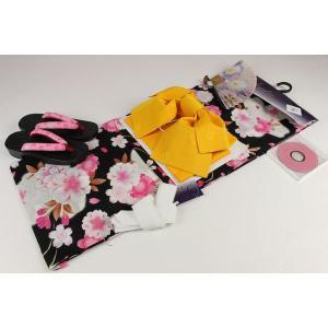 4Lサイズ お仕立て上り浴衣(10)帯(B)7点セット(下駄25.5cm,重ね衿,扇子はおまかせです)FUR-10A|ran