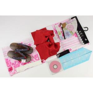トールサイズ お仕立て上り浴衣7点セット(下駄25.0cm,重ね衿,扇子はおまかせです)TAL-13-D|ran
