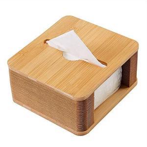 車のリビングルームのキッチンオフィスの寝室の装飾のためのハンカチの箱の木の広場、創造的なデスクトッ?