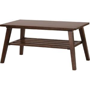 モティ コーヒーテーブル RTO-744 ブラウン ナチュラル センターテーブル ローテーブル リビング 80cm おしゃれ モダン 高額売筋 東谷 棚付 カフェ風 今季も再入荷 azumaya 木製