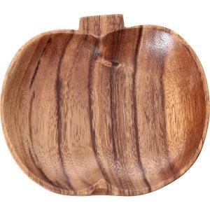 木製食器 木製プレート トレイ アカシア アップル型トレー S 94470 プレート お皿 皿 キッチン雑貨 食卓 食器 お洒落 おしゃれ|rankup