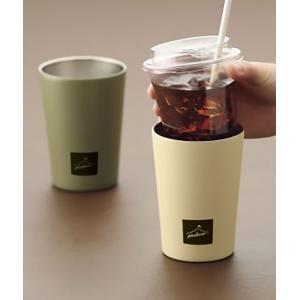 ピックドア コンビニカップ  カップをそのまま入れるだけで簡単 ステンレス製で丸洗いできて清潔 450ml|rankup