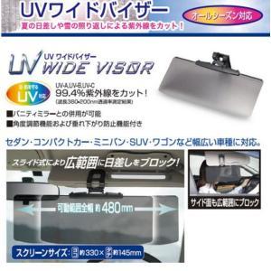 UVワイドバイザー PF-682 オールシーズン対応 サンシェード 角度調節機能 垂れ下がり防止機能付き サイド面も広範囲にブロック スライド式 クリップ式で簡単装着|rankup