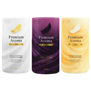 トイレの消臭力 エステー 400ml  ルミナスノーブル・モダンエレガンス・イノセントシフォン  消耗品 芳香剤 消臭力 トイレ用 プレミアムアロマ Premium Aroma rankup