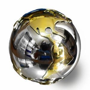 メキシコ MUSICAL BALL ミュージカルボール 地球儀 特大 40mm|ガムランボール|音玉|ミュージック|鈴|鐘(ベル)|オルゴール||rapanui