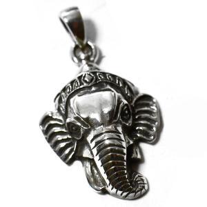 インド神 ガネーシャ スターリングシルバー ペンダントトップ|シルバー925|夢をかなえるゾウ|インド神話|ヒンドゥー教|神々|象頭財神|rapanui