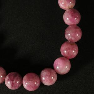 一点物 10月誕生石 ピンクトルマリン ブレスレット 10mm|ブラジル産|天然石|パワーストーン|電気石|マイナスイオン|rapanui|02