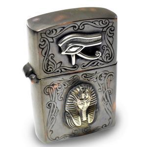 goodvibrations 古代エジプト ホルスの眼(ウジャト)&ツタンカーメン アンティーク ジッポ ライター|グッドバイブレーション|rapanui