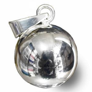 メキシコ MUSICAL BALL ミュージカルボール シンプル ペンダントトップ 25mm|ガムランボール|音玉|ミュージック|鈴|鐘(ベル)|オルゴール|rapanui
