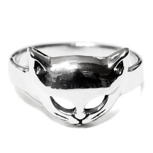 PETER STONE ネコ(キャット) スターリングシルバー リング(指輪)|猫|シルバー925 メール便対応可|rapanui