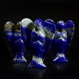 エンジェル(天使)ラピスラズリ(アフガニスタン産) 彫刻 サイズ:34×48mm|rapanui