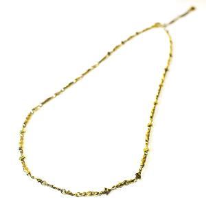 【goodvibrations】プロビデンスの目 ブラス(真鍮) ネックレス 45〜50cm サイズ調整可能|rapanui