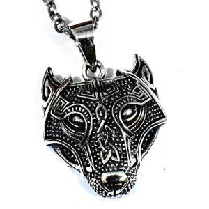 ネイティブアメリカン オオカミ(狼) スターリングシルバー ペンダントトップ|rapanui