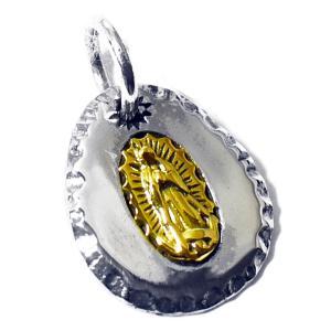 【goodvibrations】メキシコ グアダルーペの聖母(マリア) 高品質シルバー ペンダントトップ|rapanui