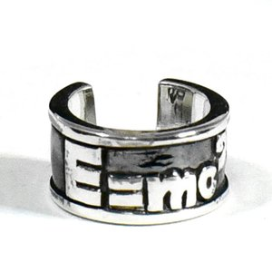 【goodvibrations】アインシュタイン 相対性理論 E=mc2 スターリングシルバー リング(指輪) サイズ調整可能 rapanui