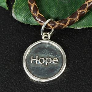 バリシルバーパーツ 英語 HOPE(希望) スターリングシルバー チャーム いぶし加工 ペンダント インドネシア バリ島 シルバー925 パーツ 卸価格 rapanui 02