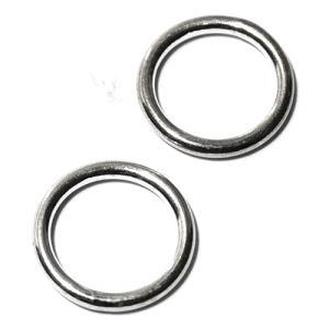 バリシルバーパーツ 丸カン(口閉じ) 直径10mm 2個セット|インドネシア|バリ島|シルバー925|パーツ|卸価格 メール便対応可|rapanui