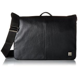 Knomo Luggage Men's Bungo Laptop Messenger Bag, Bl...