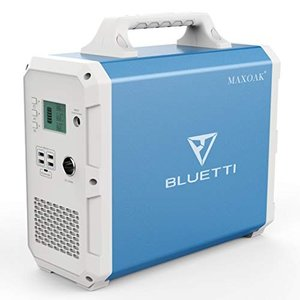 MAXOAK Portable Power Station BLUETTI EB150 1500Wh...