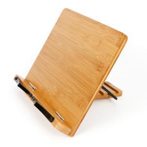 ブックスタンド 木製 書見台 書架台 レシピスタンド ワイド 本立て ipad パソコン スタンド ...
