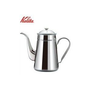 丈夫で保温性が高い、ステンレス製のコーヒーポットです。注ぎ口が細いのでハンドドリップに適しています。...
