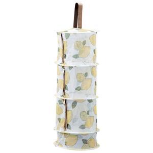 物干し竿などにひっかけて干し野菜が作れるネット可愛らしいレモン柄で目隠しもできます。 生産国:中国 ...