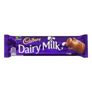 生乳を使った製法で作った濃厚な味のミルクチョコレート。キャドバリーブランドを代表するチョコレートです...