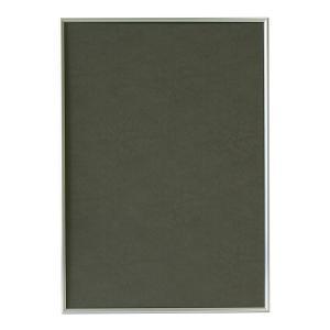 スマートな形状が作品を引き立てます。 製造国:日本 素材・材質:フレーム:アルミ 付属品:金具、ヒモ