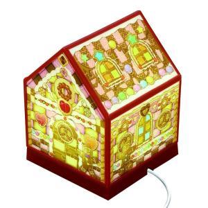 ライトが光る家型ジグソーパズルです。音に反応して電源が入るので、手をたたいてライトのON/OFFが可...