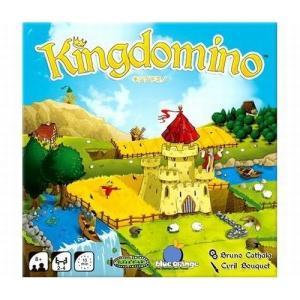 ドミノのような二つのマスで構成された土地タイルをうまく並べて、美しい王国を作り上げましょう!  とて...