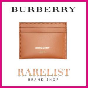 バーバリー BURBERRY カードケース ナツメグ ブラウン レザー|rarelist|01