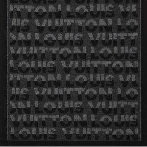 ルイヴィトン LOUIS VUITTON マフラー 新作 アントラシット ダークグレー ブラック ウール ロゴ|rarelist|05