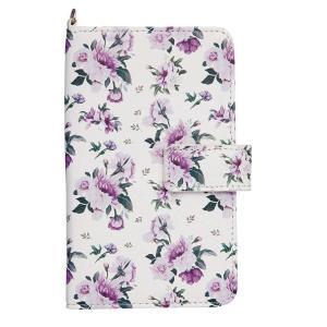 花柄のスマートフォンケース ミラー付き 同梱・代引き不可|rarihima-store