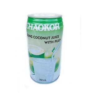 チャオコー ココナッツジュース(果肉入り)350ml rasalhanut