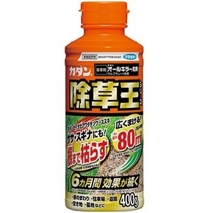 【商品特徴】 手軽にまける粒タイプの除草剤です。