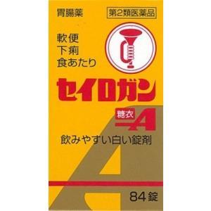 【第2類医薬品】 セイロガン糖衣A  84錠 [整腸剤]