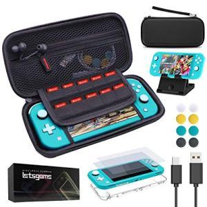 Nintendo Switch Lite ケース ニンテンドースイッチライト 14 IN 1セット収...