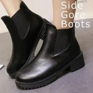 レディースシューズ サイドゴア ブーツ ブーツ (bo-28...