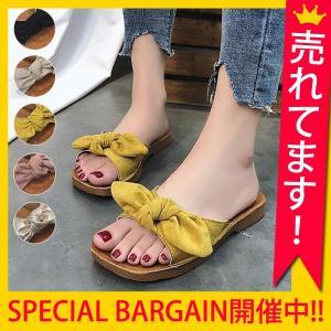 サンダル レディース 履きやすい 幅広 ぺたんこ 歩きやすい おしゃれ 大きいサイズ フラット^bo-581^|raspberryy