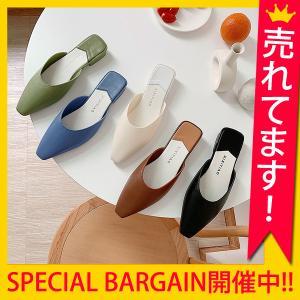 パンプス レディース フラット ミュール サンダル おしゃれ かわいい 大きいサイズ 靴 シューズ ^bo-634^|raspberryy