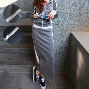 セットアップ 上下セット パーカ レディース 冬 スカート (送料無料) (su019) SALE