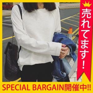 【週末限定★10%OFF】 カットソー レディース 長袖 パ...